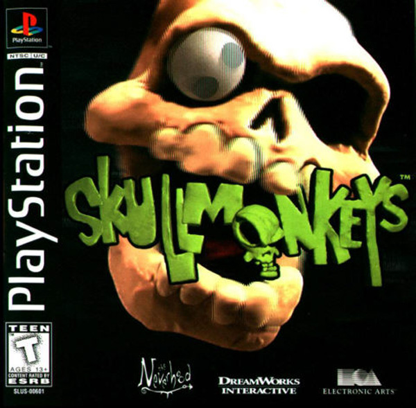 Skullmonkeys [NTSC-U] Front Cover